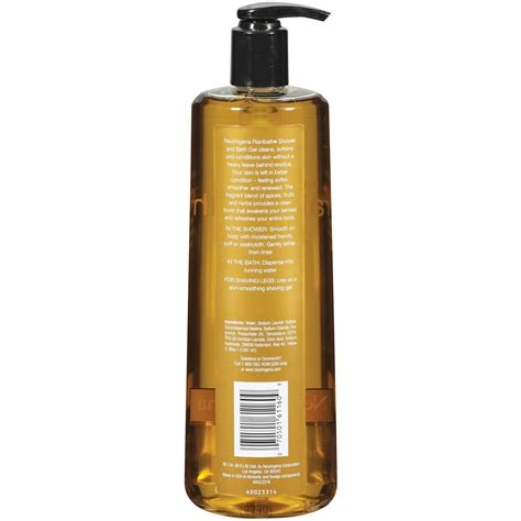 Spa Shower Gel Original neutrogena rainbath refreshing shower and bath gel wash original 16 fl household