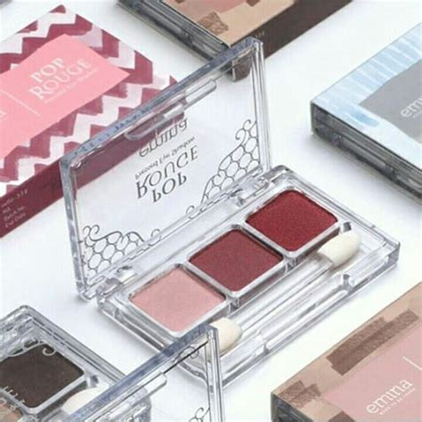 Eyeshadow Emina Purple emina pop eye shadow shopee indonesia