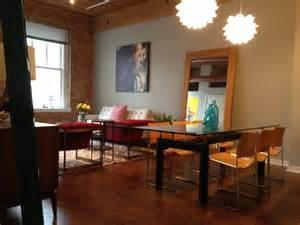 mid century modern dining rooms hallie s loft mid century modern modern dining room