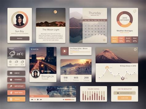 web ui tutorial flat web design tutorials and ui kits just do it