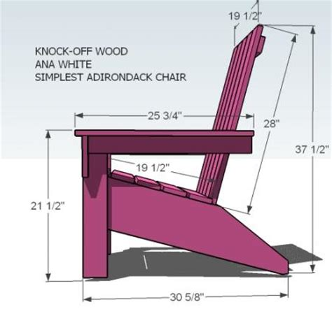 deck chair template white build a s adirondack chair free and easy