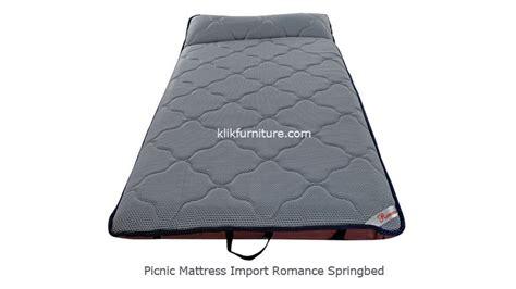 Cek Kasur Lipat picnic mattress import springbed kasur piknik