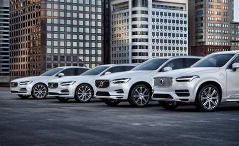 volvo models   electrified powertrains