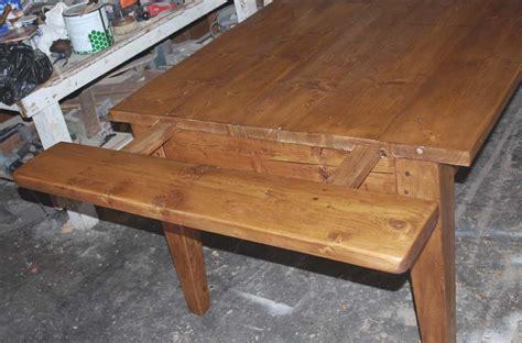 expandable farmhouse dining table custom expandable farmhouse table by edward cooper