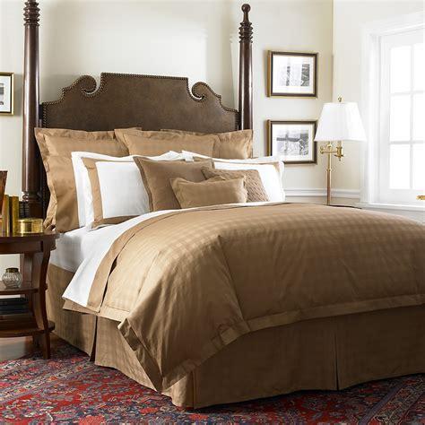 """Lauren Ralph Lauren """"Glen Plaid Suite"""" Bedding, Camel   Bloomingdale's"""