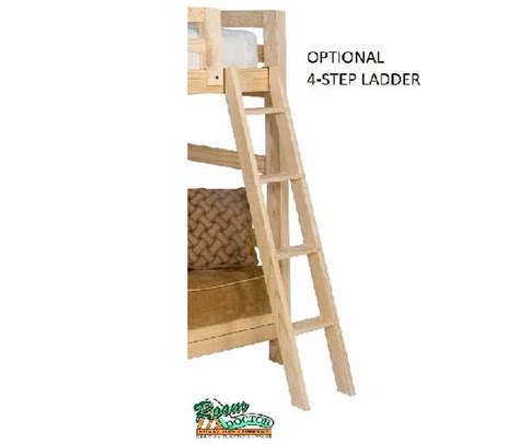 bunk bed removable ladder bunk bed spirit style
