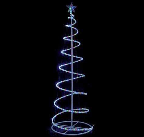 china 6 ft rope light spiral tree 71006m china