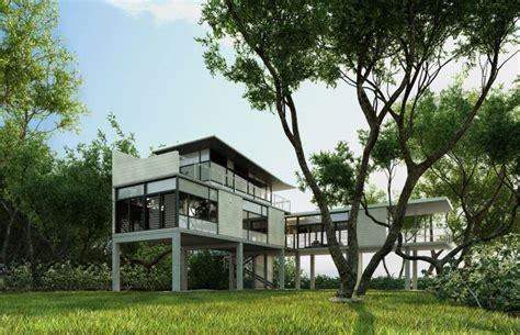 Modern House On Stilts Www Pixshark Com Images Modern Stilt House Plans