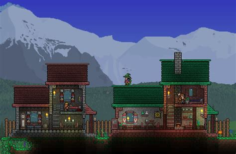 Small Victorian Homes Town Terraria Community Forums