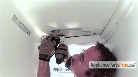 refrigerator light socket kit how to replace youtube