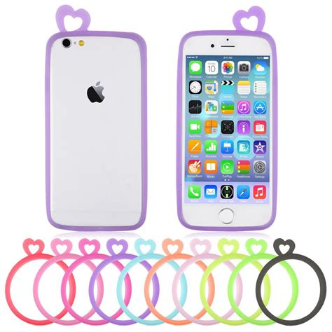 Op4551 For Iphone 6 6s Soft Jelly Small Boo Ghost Cartoo Kode Bi 1 for samsung iphone 6s plus 6 6 plus cover ultra soft gel tpu frame bumper ebay