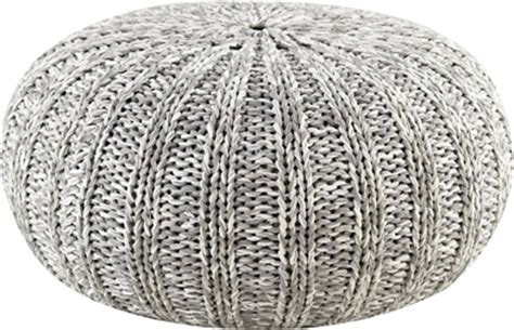 grey pattern pouf grey knitted pouf lay baby lay lay baby lay