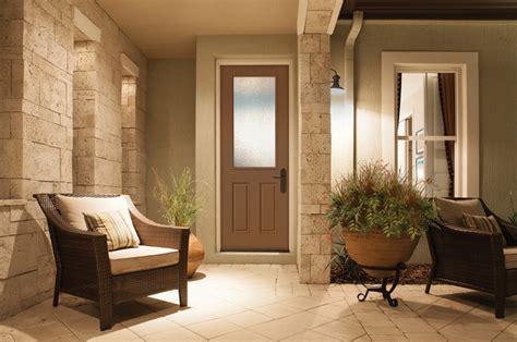 8 foot 1 2 lite door granite glass brown mocha paint sw6067 sherwin williams traditional