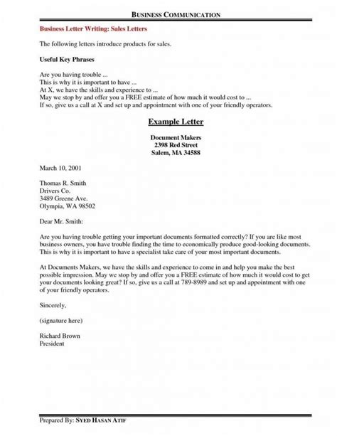 business letter useful phrases business letter closing phrases the letter sle