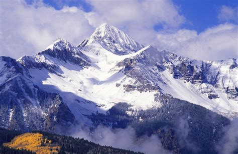Mountain High Gift Cards - rocky mountain high photograph by russ bishop