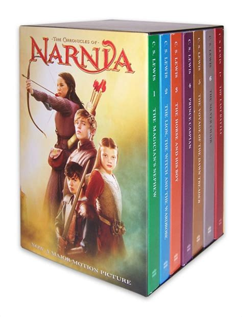 chronicles of narnia series author the chronicles of narnia boxed set c s lewis hardcover