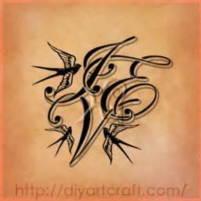 pin tatuaggi lettere md maiuscole intrecciate farfalle e pin tatuaggi lettere md maiuscole intrecciate farfalle e bocciolo di rosa cake on