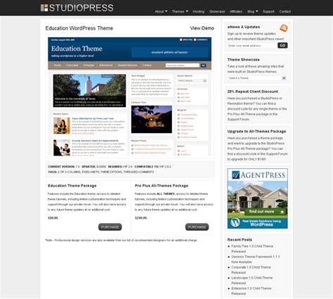education theme studiopress top 10 premium wordpress templates flame scorpion