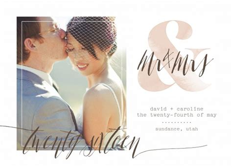 Wedding Announcement Cards by Wedding Announcement Wording Etiquette Guide Shutterfly