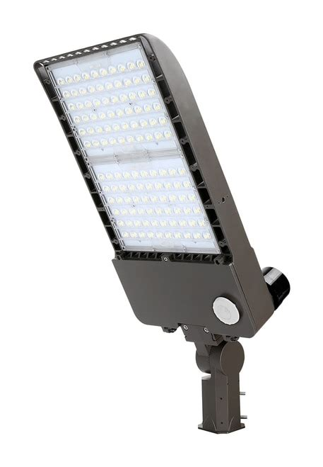 300 watt led light led parking lot light 300 watt 5000k pole mount