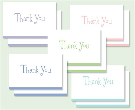 Thank You Letter For Values 5 Of Our All Time Favorite Thank You Cards