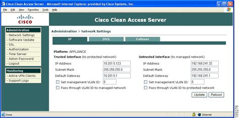 cisco nac appliance clean access server configuration guide release 4 7 5 administering