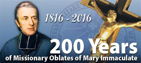 omi years our immaculate mother missionary oblates of mary immaculate