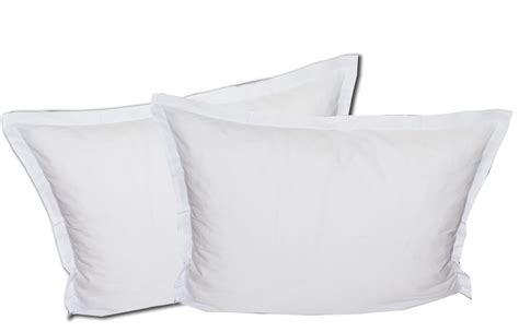 plain white pillowcase cotton pillow