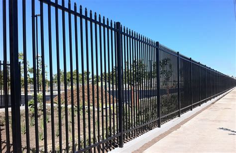 Decorative Metal Fence by Galvanized Steel Fence Panels Metal Fence Panels