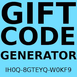 play redeem code generator apk gift code generator android apps on play