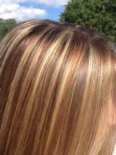 high and low highlights for hair pictures high contrast highlight and lowlights hair color