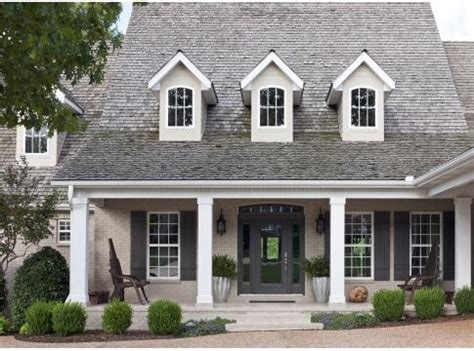taupe house with black shutters home sherwin williams colors tony taupe brick black fox