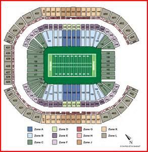 University Of Phoenix Stadium Map by University Of Phoenix Stadium