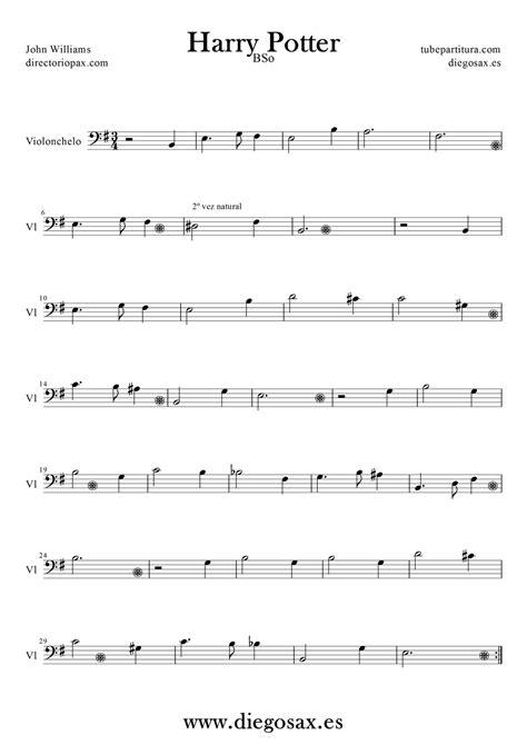 theme music for q partituras harry potter