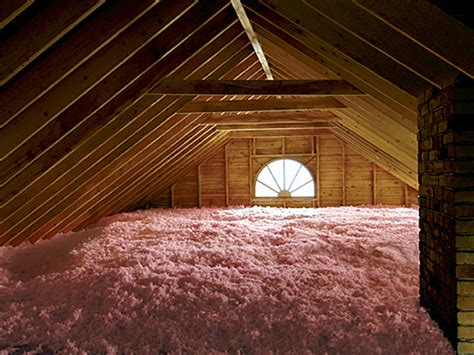 attic pictures owens corning attic insulation