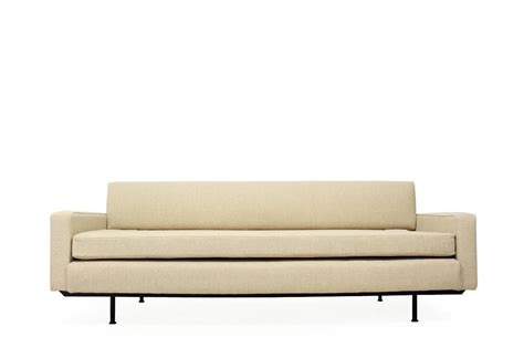 Sofa With Metal Frame by Florence Knoll Daybed Model 702 Midcentury Sofa Metal