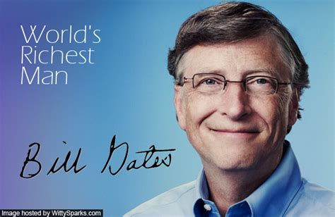 bill gates back on top of the rich list witty sparks