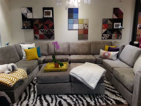 lovesac miami this 6s taupe u shaped with accessories can be