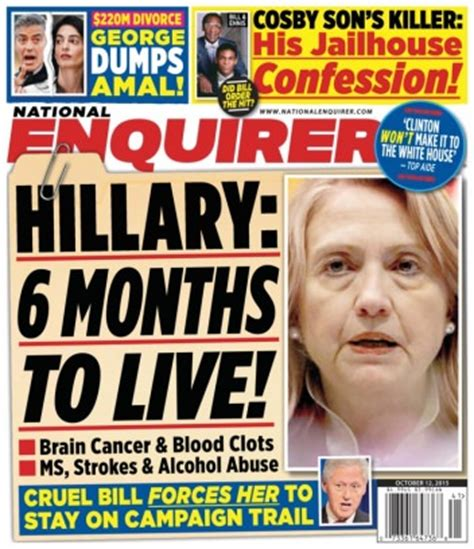 This Week In The National Enquirer Stepford by Enquiring Minds Want To Just How Cozy Are And