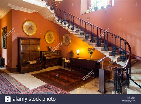 houses to buy in pembrokeshire interior of scolton manor victorian country house in pembrokeshire stock photo