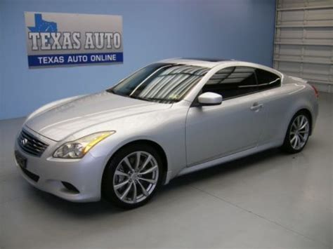 find used we finance 2008 infiniti g37 sport roof nav 6