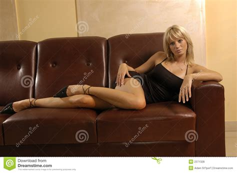 hot couch sexy girl on a sofa royalty free stock photos image 2371328