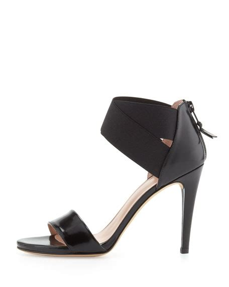 how to stretch leather sandals stuart weitzman sexyflex leather stretch sandal black