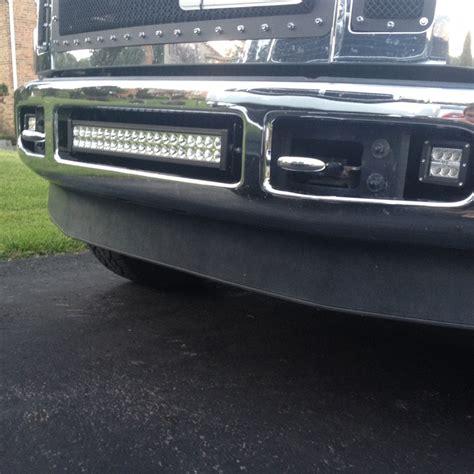 ford f250 led light bar bumper brackets for 20 quot led light bars 08 10 ford