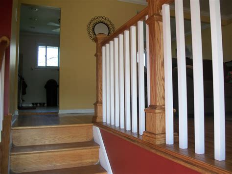 oak stair banister home remodeling and improvements tips and how to s