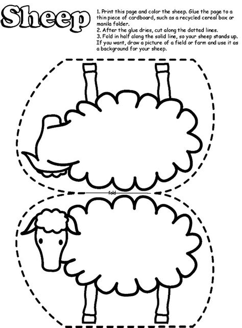 sheep  coloring   coloring page site lost sheep
