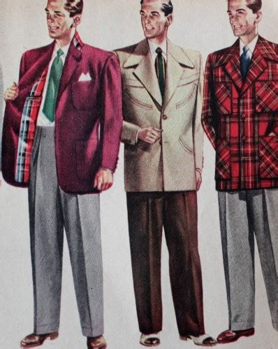 1950s mens wear models picture