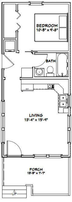 14x32 Cabin Plans by 17 Best Ideas About Tiny Houses Floor Plans On