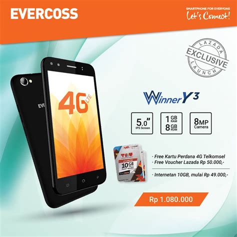 Tablet Advan Winner S3 evercoss winner y3 lazada deteksi gadget