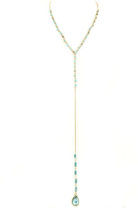 y drop pendant necklace necklaces